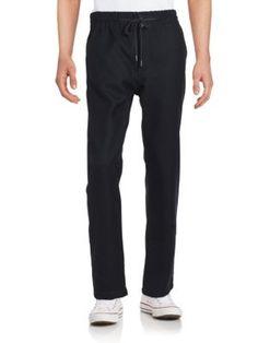 HELMUT LANG Drawstring Jogger Pants. #helmutlang #cloth #pants