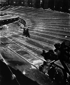 """NATHAN LERNER """"The Roundhouse, Chicago""""  1936, printed later"""