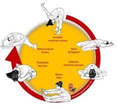 Exercício diário em apenas 5 minutos (mínimo).     Esta série de 6 posições tem como função estirar os meridianos, permitindo também ve...
