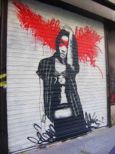 Marvelous Street Art & Stencil By Fin DAC