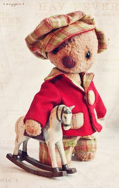 teddy bear by ♥Oxygen♥, via Flickr