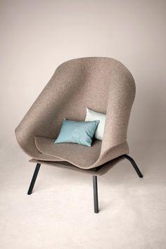 Charlotte Kingsnorth - Felt Up Chair http://www.charlottekingsnorth.com/