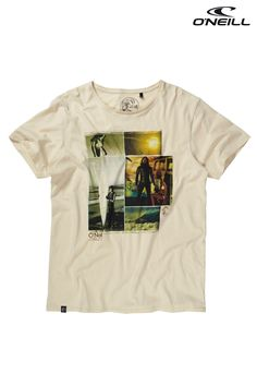 Buy O'Neill™ Ivory Surf Graphic T-Shirt from the Next UK online shop