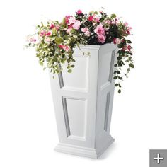 Cornwall Planters-I want one of these for each side of our front door on the porch.