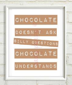 CHOCOLATE PRINT by eazy-peazy via dawanda.com