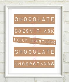CHOCOLATE PRINT by eazy-peazy via dawanda.com