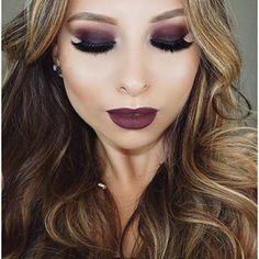 Subtle Makeup, Eye Makeup, Hair Makeup, Autumn Inspiration, Makeup Inspiration, Makeup Ideas, Gothic Makeup, Glitz And Glam, Eyeshadow Looks