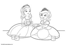 sofia the first coloring pages printable projects to try pinterest disney coloring and