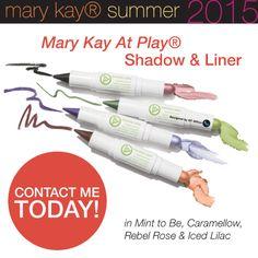 At Play Mary Kay, Mary Kay Cosmetics, Summer Shades, Beauty Consultant, Lilac, Website, Beauty Stuff, Mayo, Eye Liner