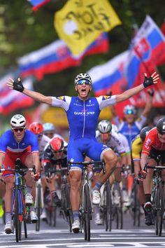 104th Tour de France 2017 / Stage 2 Arrival / Marcel KITTEL Celebration / Arnaud DEMARE / Andre GREIPEL / Dusseldorf Liege / TDF /