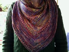 This is in progress - try 3 for my malabrigo Archangel