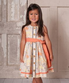 Look at this Binx Kids Wasabi Luna Dress - Toddler & Girls on #zulily today!