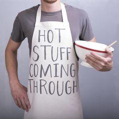 Hot stuff coming through!