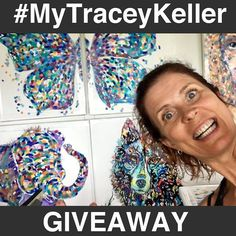 GIVEAWAY TIME!! AND IT'S A BIGGIE!  It's time to reward our BIGGEST fan! Are YOU our biggest fan? Win YOUR choice of ANY Tracey Keller Textured print! How? Easy!  Share a pic/video of your Tracey Keller collection and hashtag #MyTraceyKeller! Entries close the Oct 4 2017, 5pm AEST. We will randomly select the winner and winner will have 48 hours to respond or redraw. Easy huh?  Oh, btw, we are doing a separate comp on Facebook, so double your chances and enter there too! See link in my bio.