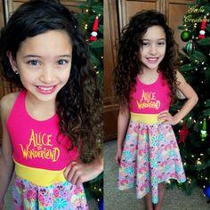 ALICE IN WONDERLAND Dress Girls Dress Alice by GerlieCreations