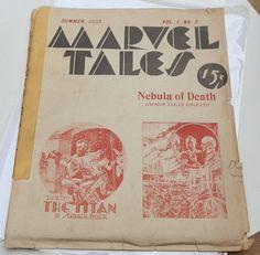 1935 SciFi Marvel Tales. Science and Fantasy. by DanPickedMinerals, $140.00