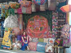 Alicia´s Stall in Pushkar.