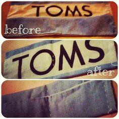 #Toms #wallet #DIY
