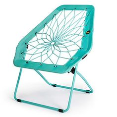 Leisurely sit and relax in stylish comfort with the Bunjo Hex Chair. Body-conforming bungee web seat with metal frame can support up to 200 lb. Perfect for extra seating and ideal for small dwellings. Compactly folds for easy storage when not in use. Dorm Room Seating, Dorm Room Chairs, College Dorm Decorations, College Dorm Rooms, Bungee Chair, Wooden Office Chair, Office Chairs, Dorm Design, Interior Design