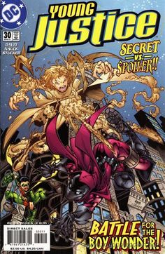 YOUNG JUSTICE #30, DC COMICS, 2.001, USA