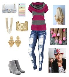Date with Wes by harrystylesandliampayne on Polyvore featuring polyvore, beauty, Shyla, Rosantica, Chanel and Jil Sander