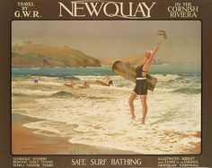 ENGLAND - CORNWALL - Newquay, W. Burbidge