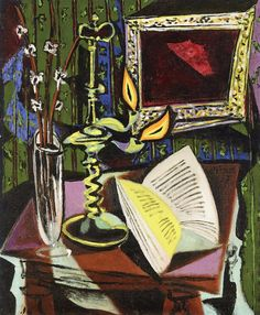 Pablo Picasso - Still Life with Candlestick, 1937