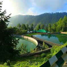 Water reservoirs Nathia gali Pakistan