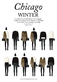 Unique et créatif What to Wear to Chicago, the Winter: A Traitement Travel Wardrobe by Tenues for Travel This Chicago-hiver-packing list ce qui d. Chicago Fashion, Chicago Outfit, 90s Fashion, Winter In Chicago, Chicago Chicago, Skirt Outfits, Winter Outfits, Winter Travel Outfit, Summer Travel