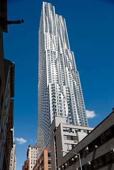 Beekman Tower, New York | Frank Gehry