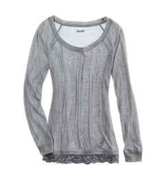 Aerie Soft Button-Back T-Shirt | Aerie for American Eagle size L