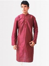 Buy #Bodyline #Men Purple #Embroidery #Kurta @YuvaStyle India