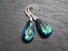 Hey, I found this really awesome Etsy listing at https://www.etsy.com/listing/175800892/bermuda-blue-crystal-earrings-swarovski