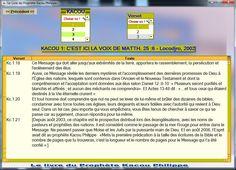 FRANÇAIS : Après les téléphones Android, le Livre du Prophète Kacou Philippe maintenant en logiciel pour ordinateur. Vous pouvez lire et faire des recherches. http://philippekacou.org/Telecharger/index.htm ENGLISH : After Android phones, the Book of Prophet Kacou Philippe is now available as computer software. You can read it and do some searches through it. http://philippekacou.org/Telecharger/index.htm ESPAŇOL : Después de los móviles Android, el Libro del Profeta Kacou Philippe está ahora…