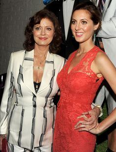 Oscar winner Susan Sarandon and her daughter, actress Eva Amurri Martino
