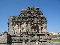 Suryanarayana temple (Sun temple) in Lakkundi, South India. A beautiful old temple.