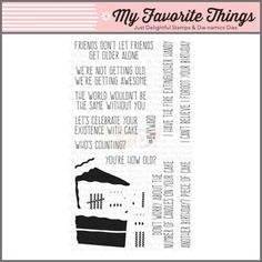 My Favorite Things Clear Stamp - Piece of Cake