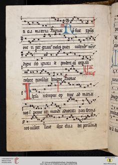 Antiphonarium Cisterciense Salem, um 1200 Cod. Sal. X,6b  Folio 147v