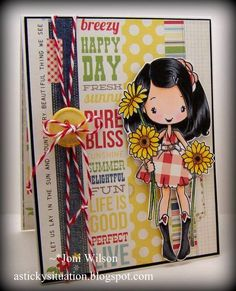 Splendid Stamping with The Greeting Farm: FFF Paper Piecing!