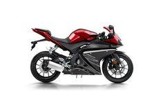 My favorite motorcycles.Yamaha  R125 Radical Red