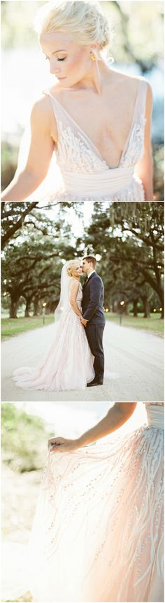 Get inspired by this Romantic Fall Wedding at Boone Hall Plantation. Discover the vendors responsible for this stunning event, and book them for your big day. Only on Zola. Perfect Wedding Dress, One Shoulder Wedding Dress, Boone Hall Plantation, Bridal Gowns, Wedding Dresses, Southern Weddings, Plunging Neckline, Cut And Style, Wedding Vendors