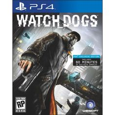 Watch Dogs (PlayStation 4) - Édition Day 1 Playstation, Ps4 Exclusives, Cool Things To Buy, Movie Posters, Canada, Games, Dogs, Products