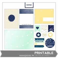 Shine Printable by BananafishStudio - Available June 2013 only!