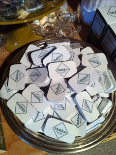 I love these tiny travel tins for carrying Maldon Sea Salt.