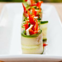 Image result for Cucumber Roll Up Recipes for Appetizers