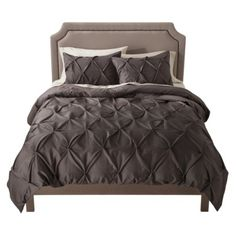 Threshold™ Pinched Pleat Duvet Cover Set  $70 for queen at Target