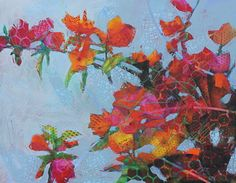 Wild Flowers by Christine Fortner, Acrylic