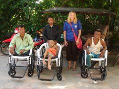 Globe Aware Volunteer Vacations  Cambodia Wheelchair Project