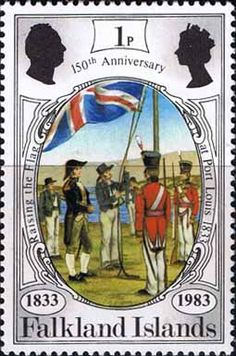 Falkland Islands 1983 150th Anniversary of British Administration SG 439 Fine Mint SG 439 Scott 360 Condition Fine MNH Only one post charge applied