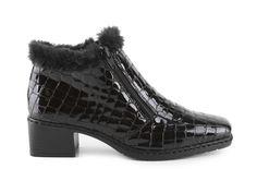 Celá nabídka obuvi a kabelek. Rieker - Dámské kotníkové zimní boty ... 5fd46745b0